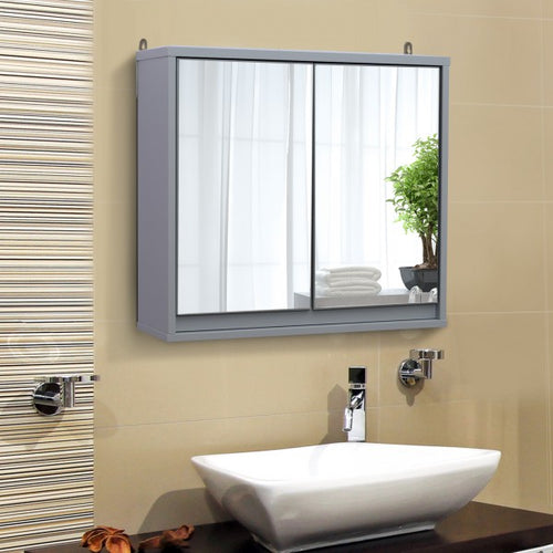 Wall Mounted Bathroom Mirror Cabinet