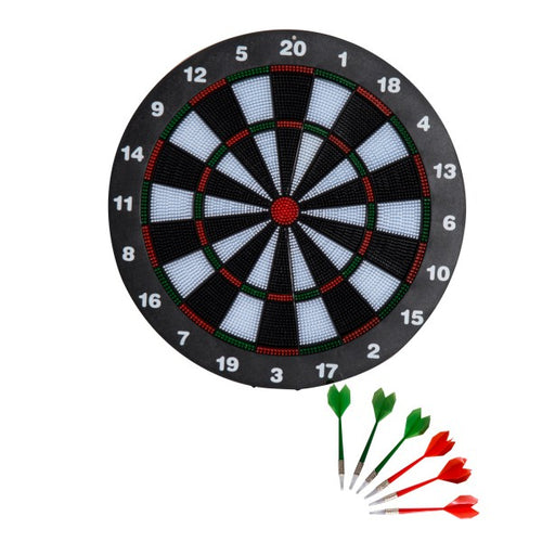 Professional Dartboard Set w/6 Darts