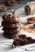 Galletas de chocolate tipo brownie