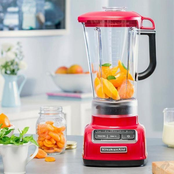 Batidora de vaso KitchenAid Diamond Rojo - Claudia&Julia