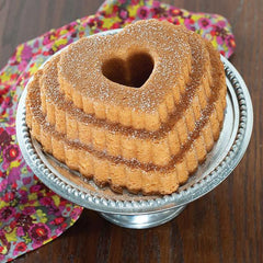 Molde aluminio Tired Heart Bundt Nordic Ware