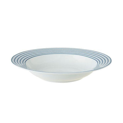 Platos de porcelana Laura Ashley 22cm - Hondo Candy Stripe - Claudia&Julia