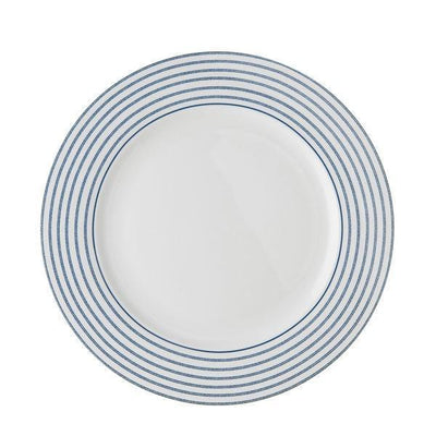 Platos de porcelana Laura Ashley 26cm - Llano Candy Stripe - Claudia&Julia