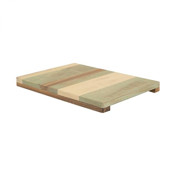Tabla salvamanteles de madera Green Cream T&G - Claudia&Julia