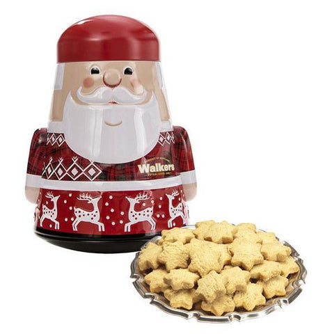 Picture of Galletas Santa y Snow Man Tin Walkers