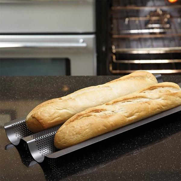 Bandeja antiadherente para baguettes Kitchen Craft - Claudia&Julia