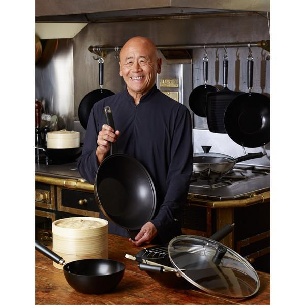 Wok de acero de carbono 31cm Ken Hom Everyday - Claudia&Julia
