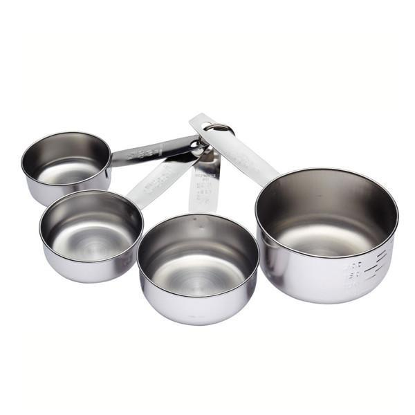 Conjunto de 4 medidores de acero inoxidable Kitchen Craft - Claudia&Julia