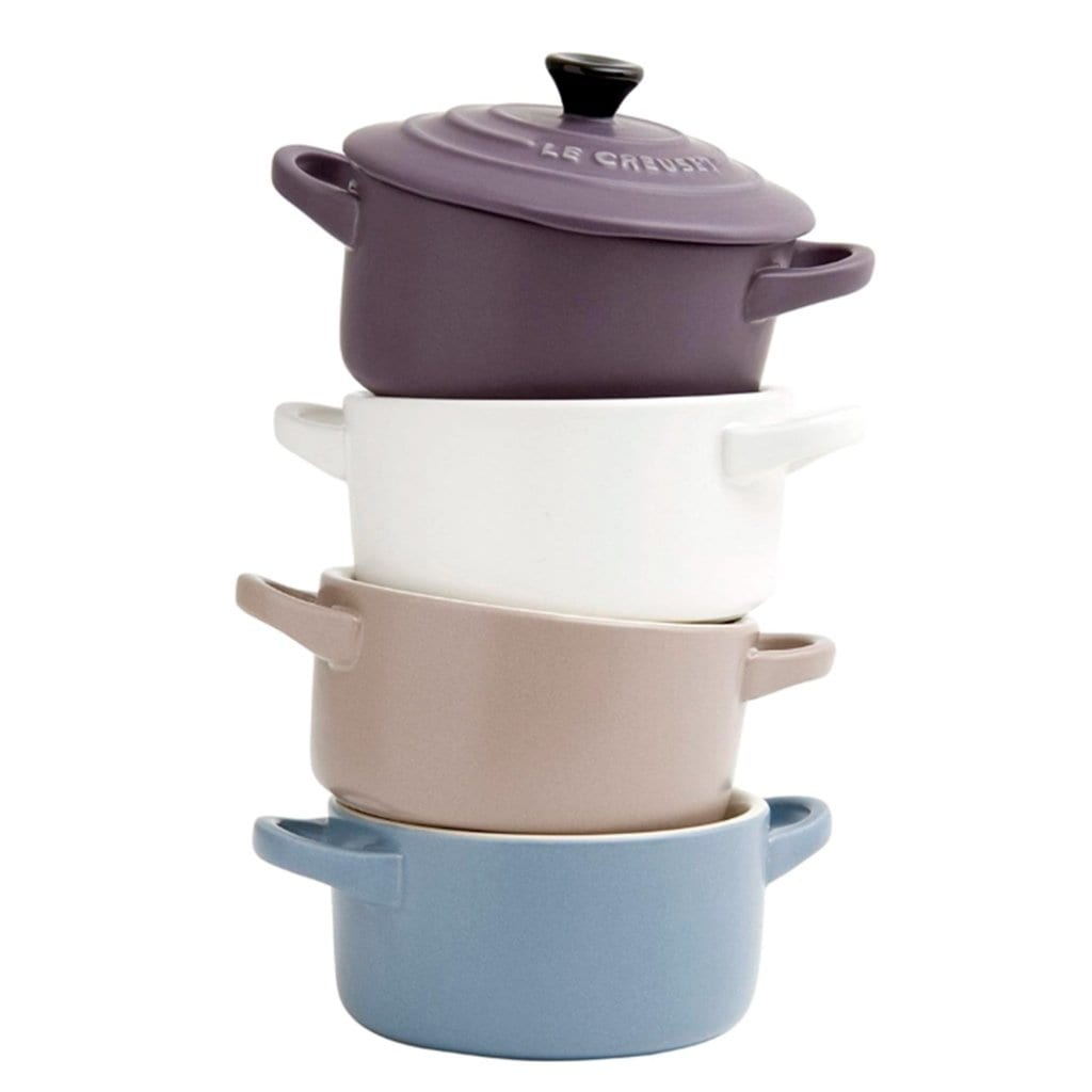 Set 4 mini cocottes mate Le Creuset - Claudia&Julia