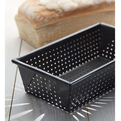 Molde rectangular perforado 21x11cm Kitchen Craft