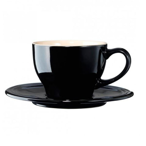 Picture of Taza con plato 200 ml negro Le Creuset