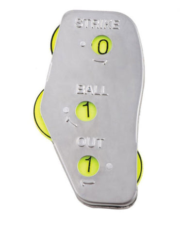 Indicators:  3-Way Metal Umpire's Indicator (BB-3M)