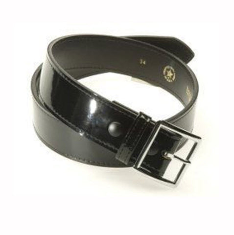 Belts:  Patent Leather Belt (B-1P)