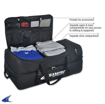 Equipment Bags: Champro Deluxe Umpire Equipment Bag (BG-CPD)