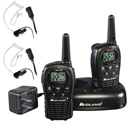 Accessories: Crew Communications System -- Set of 2 Midland Radios w/Transparent Headsets (FB-CCS)