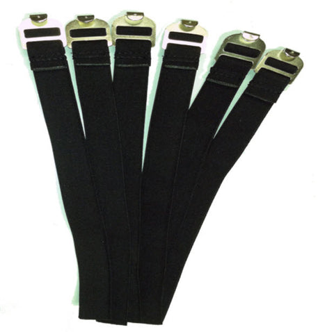 Leg Guards:  Replacement Leg Guard Straps (LG-RS)