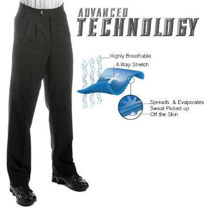 Pants:  Smitty Premium Four-Way Stretch Athletic Pleated Pants (PT-4D)