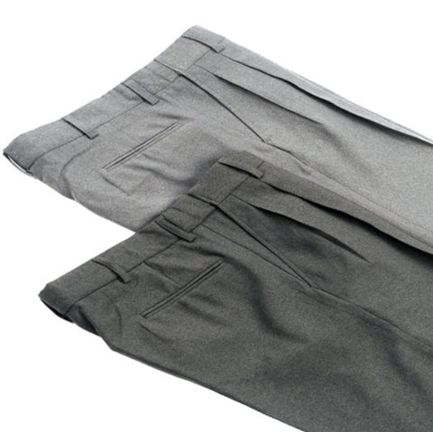 Pants:  Smitty Pleated Combo Umpire Pants -- Heather or Charcoal Grey (PT-SCE)