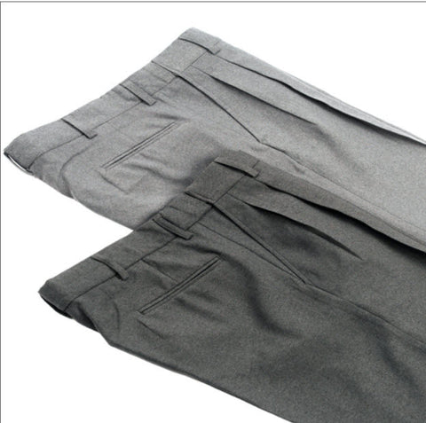 Pants:  Smitty Umpire's Pleated Plate Pants -- Heather or Charcoal Grey (PT-SPE)