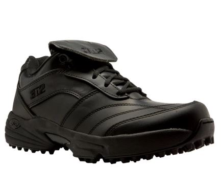 Shoes: 3N2 Reaction Low-Cut Field Shoes -- Solid Black (SH-32FD)