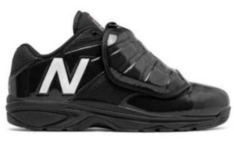 Shoes: New Balance 460v3 B&W Low-Cut Umpire Plate Shoes (SH-460L3)