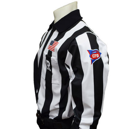 Shirts:  Smitty MADE IN THE USA NCAA CFO Dye-Sublimated L/S Premium Football Shirt (ST-CFOL)