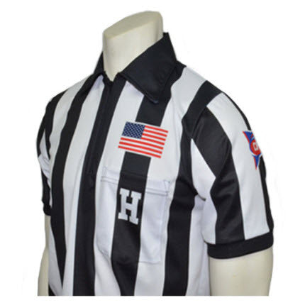 Shirts:  Smitty MADE IN THE USA NCAA CFO® Dye-Sublimated Premium S/S Football Shirt -  (ST-CFOS)