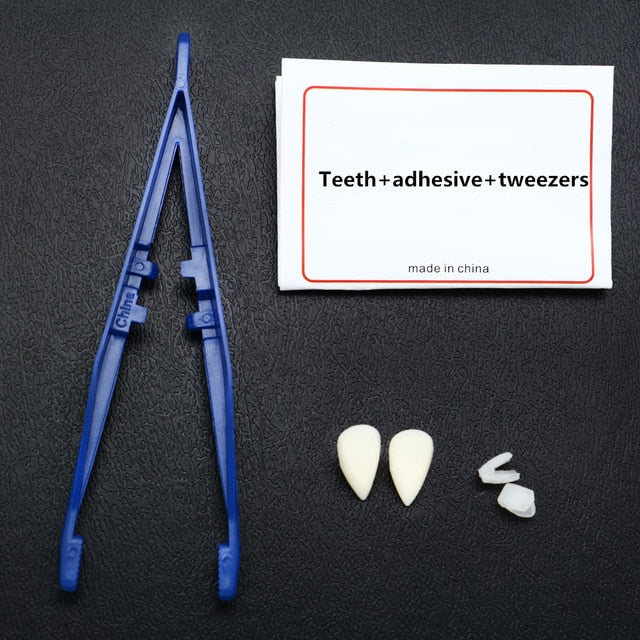 Halloween Horrible Scary Props Zombie Teeth Dress Up Party Teeth Props