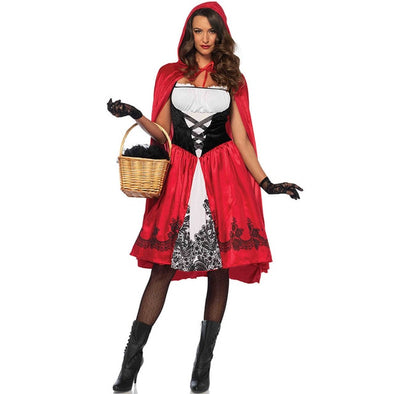 Little Red Riding Hood 2019 Halloween Costumes for Women Cosplay Anime Plus Size Scary S~3XL Woman Clothing Festival Outfit