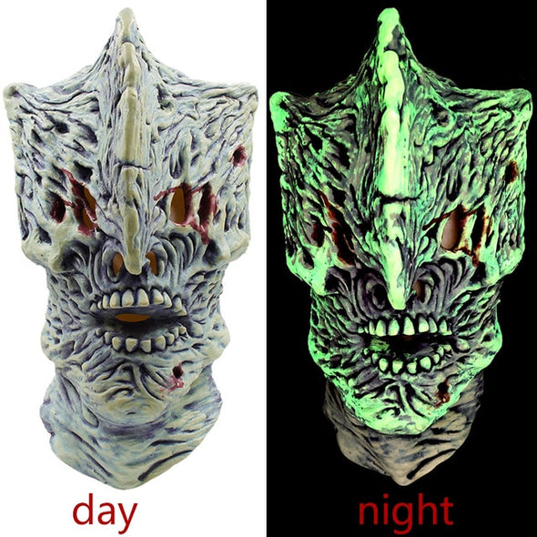 Game of Thrones Halloween Mask Night King Walker Face NIGHT RE Zombie Latex Masks Party Glowing Masker Scary Masque Horror Light