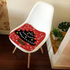 Dozzlor Non-slip Polyester Christmas Series Seat Cushion Soft Chair Seat Pad Cushion Patio Dining Office Chair Cushions Pillow