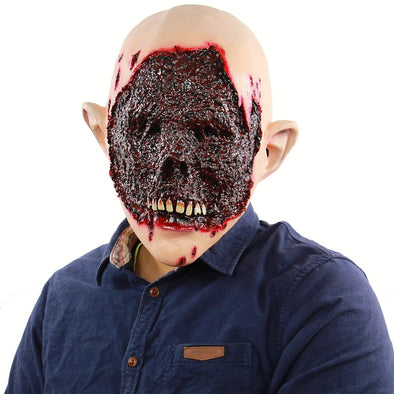 Scary Zombie Mask Blood Face Latex Masks for Halloween Masquerade Party Halloween Horror Skull Mask Fancy Vampire Decoration