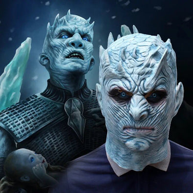 Game of Thrones Halloween Mask Night's King Walker Face NIGHT RE Zombie Latex Masks Party Masquerade Cosplay Mascara Scary Maske