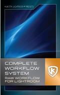 Kubota Lightroom Complete Workflow System DVD Tutorial product box shot