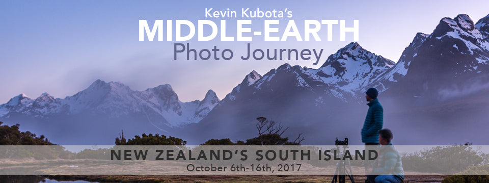 Kubota Image Tools homepage Kevin Kubota's Middle-earth Photo Journey New Zealand Workshop image