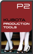 Kubota Production Tools Photoshop Action Pak product box shot