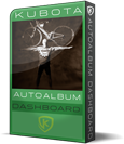Kubota AutoAlbum Photoshop  Action Album Templates Pak product box shot