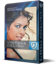 Kubota Lightroom Presets Vintage Delish product box shot