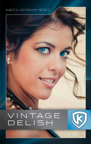 Kubota Lightroom Presets Vintage Delish