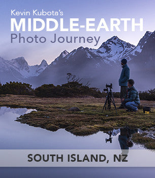 Kevin Kubota's Middle-earth Photo Journey South Island New Zealand
