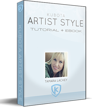 Kubota Artist Style Tutorial & eBook with Tamara Lackey - Kubota Image Tools