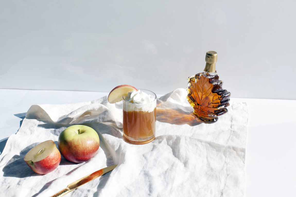 Rum Spiked Orchard Apple Cider