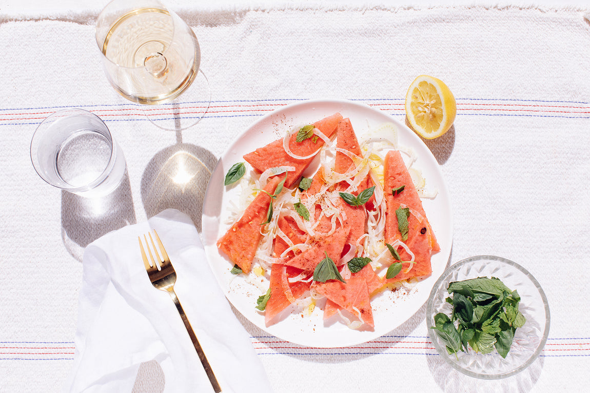 The Watermelon + Fennel Summer Salad (Recipe)