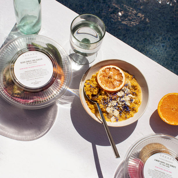VITAMIN SAKARA: <br> A week-long program designed to deeply nourish your body while celebrating summer