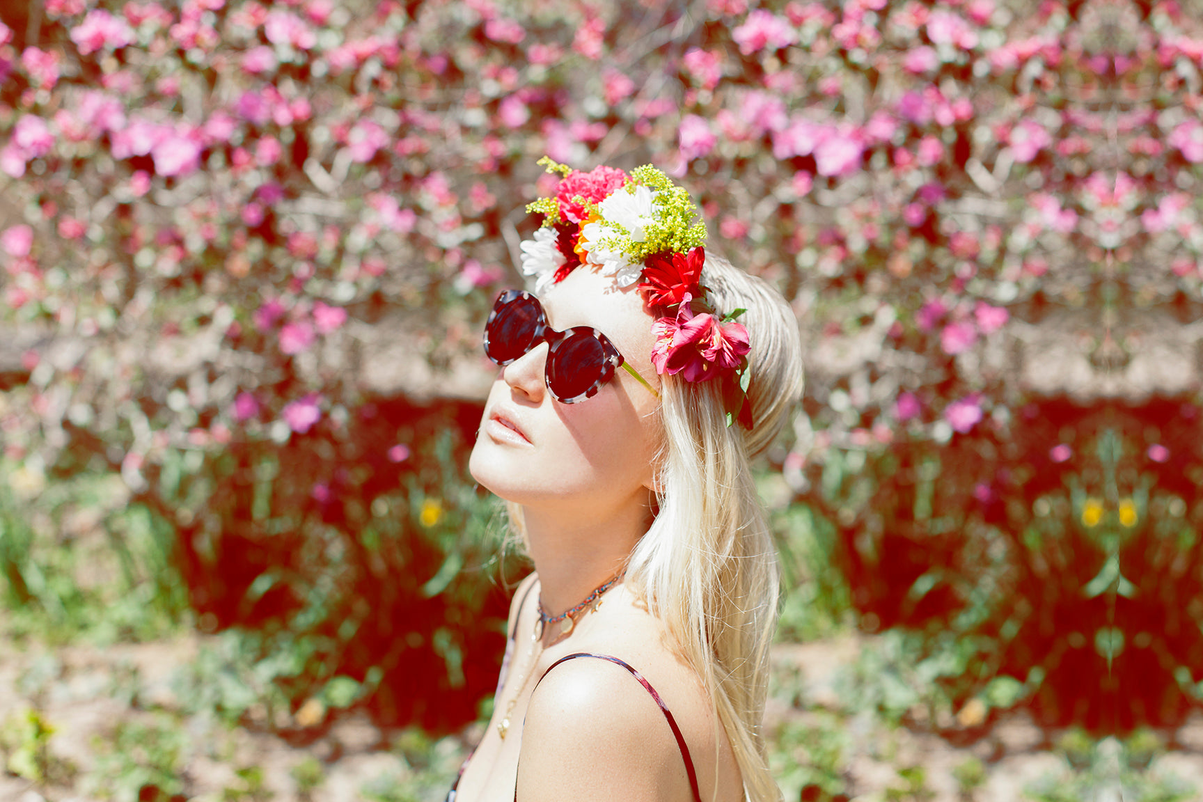 How to make a flower crown tags discoverflower crownshome baseinspires life magsakara lifesummer izmirmasajfo