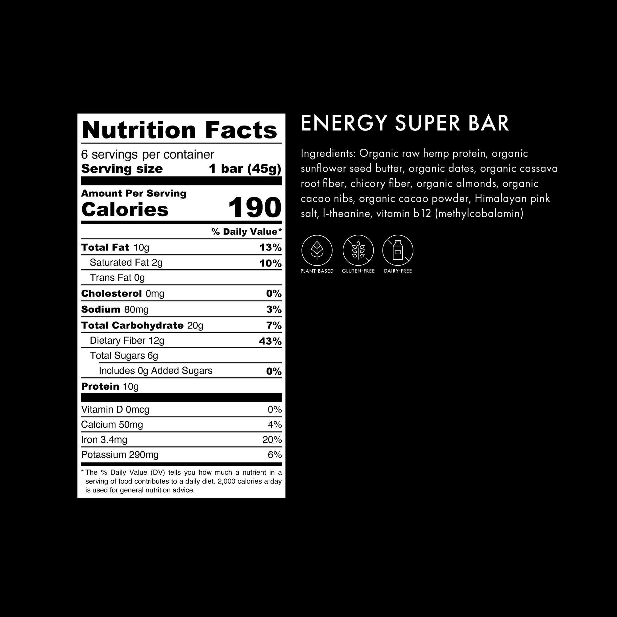 Energy Super Bar - Energy Super Bar