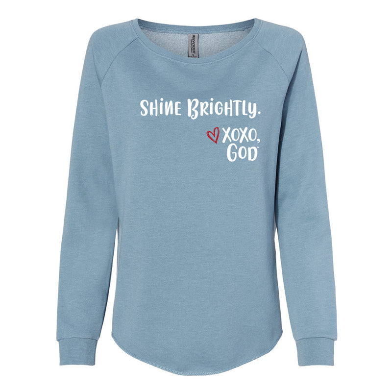 Women's Crewneck Sweatshirt - Shine Brightly!