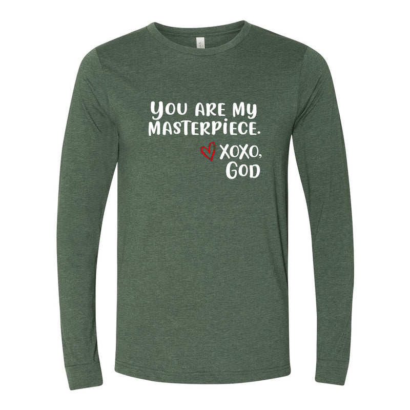 Unisex Long Sleeve - You are Masterpiece.