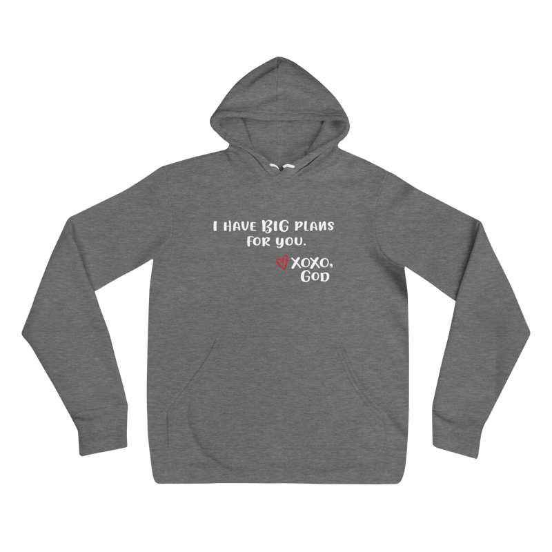Unisex Hoodie - I have BIG plans for you.