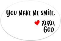 Car Magnet - You Make Me Smile